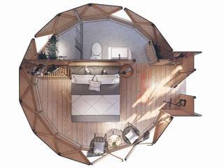 Thiết kế bungalow ấn tượng:   by Công ty TNHH Ông Kien