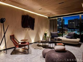 Living room by Sulkin Askenazi