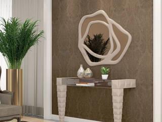 Decordesign Interiores Corridor, hallway & stairsAccessories & decoration Chipboard White