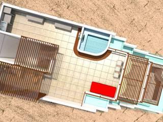 Casa de Playa - BUJAMA:  de estilo  por Corporación Siprisma S.A.C, Minimalista