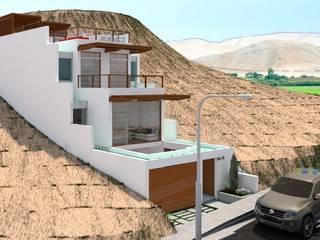 Maisons minimalistes par Corporación Siprisma S.A.C Minimaliste