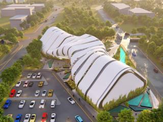"""""""Madí"""" Campus de diseño y manufactura digital en el PIIT """"CONCURSO ESTATAL"""":  de estilo  por Well Arquitectura"""