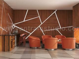 Modern Video Game, Wine Room & Impressive lobby Ideas to enhance Interior Design Studio by Architectural Animation Services, Vegas – USA Modern Şarap Mahzeni Yantram Architectural Design Studio Modern