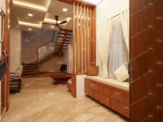 :  Corridor & hallway by 2 Bricks Design Studio