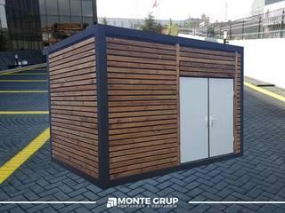 Monte Grup Yapı Sanayi – İhtiyaca Uygun Konteyner Üretimi:  tarz Ofisler ve Mağazalar