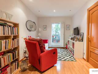 Relooking de un salón en Esplugues de Alba Montes Home Staging - ReLooking - ReDesign