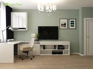 ЕвроДом Oficinas de estilo minimalista