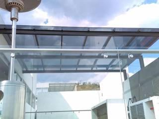 Pérgola Balcones y terrazas industriales de aia Industrial