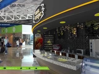 PROYECTO  CASA CREPE | Puerto Vallarta: Estudios y oficinas de estilo  por TALLARQ