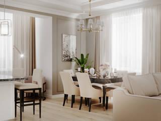 Квартира в ЖК Таврическом Гостиная в классическом стиле от Design Studio Ideas Классический