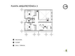 CASA AZUCENA | PUERTO VALLARTA: Casas unifamiliares de estilo  por TALLARQ