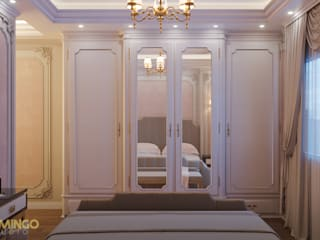 Bedroom par Flamingo Studio Classique