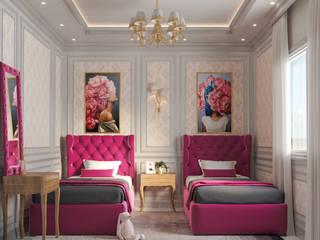 Girls Bedroom par Flamingo Studio Classique