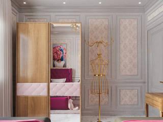 Girls Bedroom Chambre classique par Flamingo Studio Classique