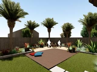 Arka Bahçe Düzenlenmesi Sanal Mimarlık Hizmetleri Modern
