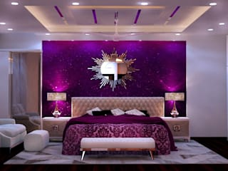Interior Design in Dwarka 23, Delhi Modern style bedroom by Shahwalia Associates Modern