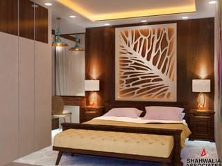 Interior Design in Dwarka 23, Delhi:  Bedroom by Shahwalia Associates,
