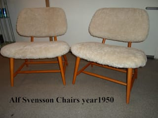 Alf Svensson Chairs: scandinavian  by Steffani Antiques & Design, Scandinavian