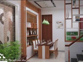 Thiết kế nội thất nhà phố 4 tầng - Bỉm Sơn, Thanh Hóa:   by NỘI THẤT XINH