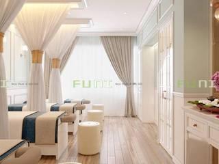Công trình thiết kế thi công spa trọn gói tại TpHCM: hiện đại  by Công Ty TNHH Funi, Hiện đại