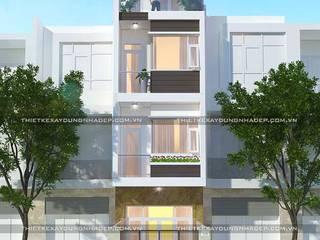 Thiết kế nhà diện tích 4x15m bởi Công ty cổ phần tư vấn kiến trúc xây dựng Nam Long