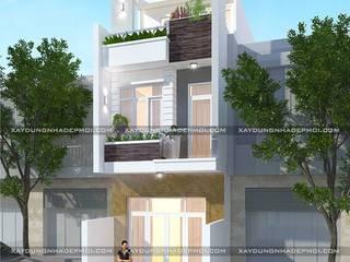 Thiết kế nhà đẹp ở huyện Củ Chi bởi Công ty cổ phần tư vấn kiến trúc xây dựng Nam Long