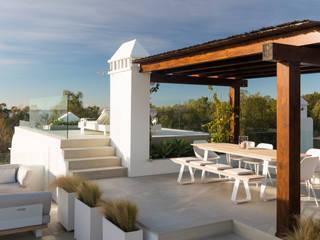 Akdeniz Balkon, Veranda & Teras Alejandro Giménez Architects Akdeniz