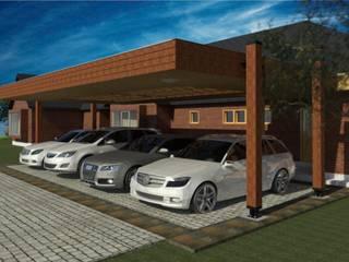 سطح مستوي / رووف مستوي تنفيذ eco cero - Arquitectura sustentable en Talca, حداثي