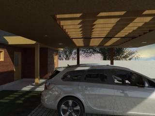 Techos planos de estilo  por eco cero - Arquitectura sustentable en Talca, Moderno