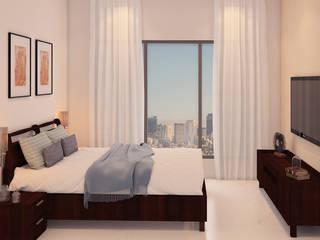 2bhk Sample flat,Mundhwa,Kp Annexe: modern  by Ground 11 Architects,Modern