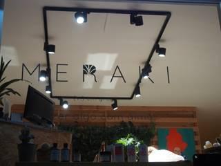 Cabeleireiro Meraki Salas de estar modernas por Lampicris Moderno
