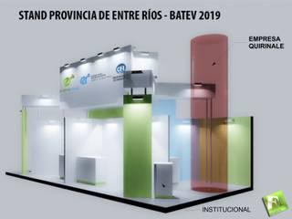 by Faerman Stands y Asoc S.R.L. - Arquitectos - Rosario
