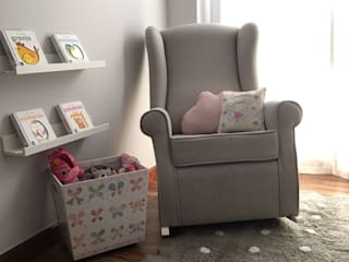 Dormitorio Infantil de Muebles Marisa Escandinavo