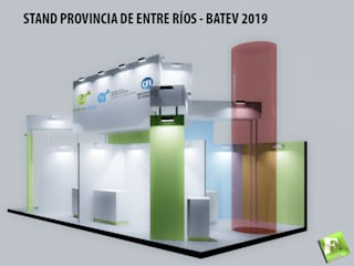 모던 스타일 전시장 by Faerman Stands y Asoc S.R.L. - Arquitectos - Rosario 모던