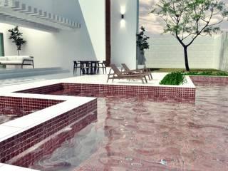 CASA RESIDENCIAL Piscinas modernas por SAULO BARROS arquitetos Moderno