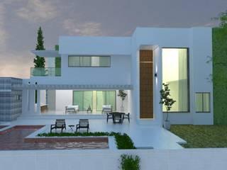 CASA RESIDENCIAL Casas modernas por SAULO BARROS arquitetos Moderno
