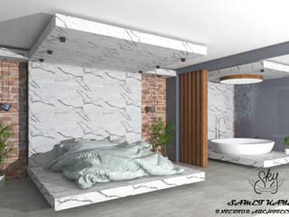 SKY İç Mimarlık & Mimarlık Tasarım Stüdyosu Small bedroom