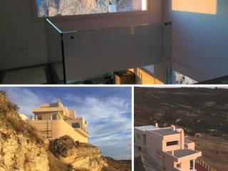 Vivienda rústica para desconectarse, en Cuenca: Casas pequeñas de estilo  de Arte y Vida Arquitectura, Rústico