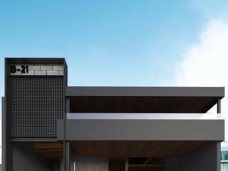 BEBEDERO 21 / BAR & Grill: Casas de estilo  por OLIVAS ARQUITECTOS