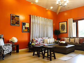 Living room by SNS Lush Designs and Home Decor Consultancy,