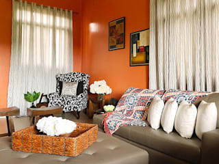 Mediterranean style living room by SNS Lush Designs and Home Decor Consultancy Mediterranean