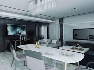 Dining room by CR.3D Modeling & Rendering, Modern