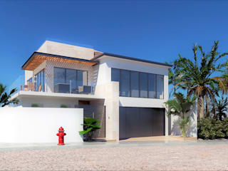 CODIAN CONSTRUCTORA Modern houses White