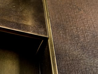 Ercole Srl Front doors Copper/Bronze/Brass Amber/Gold