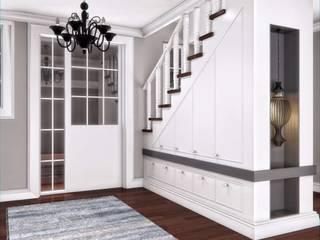 Yunus Emre | Interior Design VERO CONCEPT MİMARLIK ห้องโถงทางเดินและบันไดสมัยใหม่