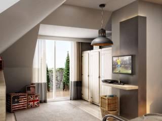 Yunus Emre | Interior Design di VERO CONCEPT MİMARLIK Moderno