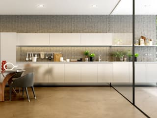 Built-in kitchens by Küche7 , Modern