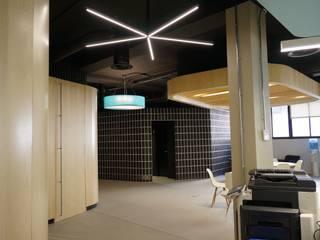 Dasepa Construcciones y reformas en Madrid Offices & stores Bricks Black