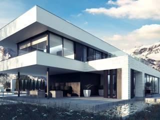 Wizualizacje domów jednorodzinnych od Rooven INT