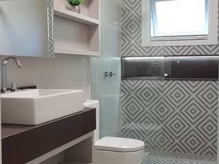 Residência L&R Banheiros modernos por Estar Arquitetura Moderno